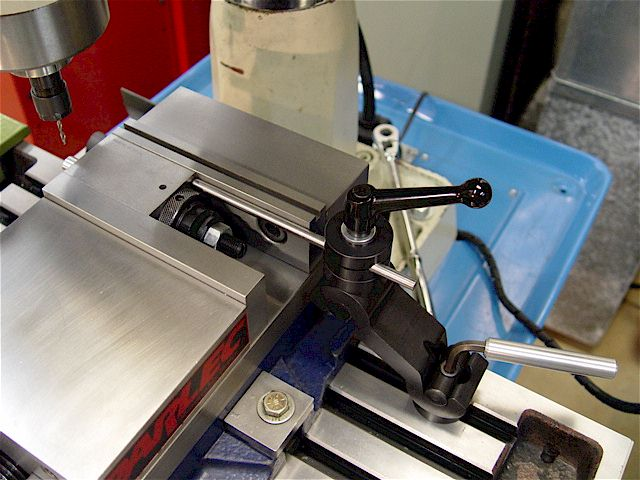 milling machine vise stop