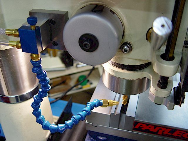 Machine Tool Coolant Systems : Rf mill coolant misting system