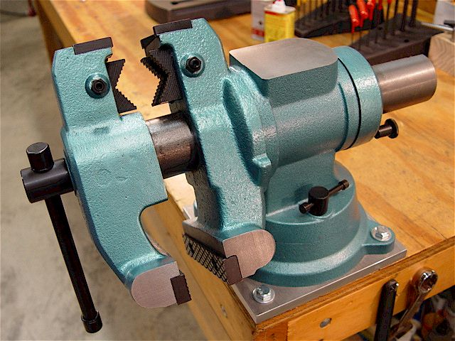 How To Install A Bench Vice Part - 16: Lastest Installing A FrontMounted Workbench Vise WoodBin