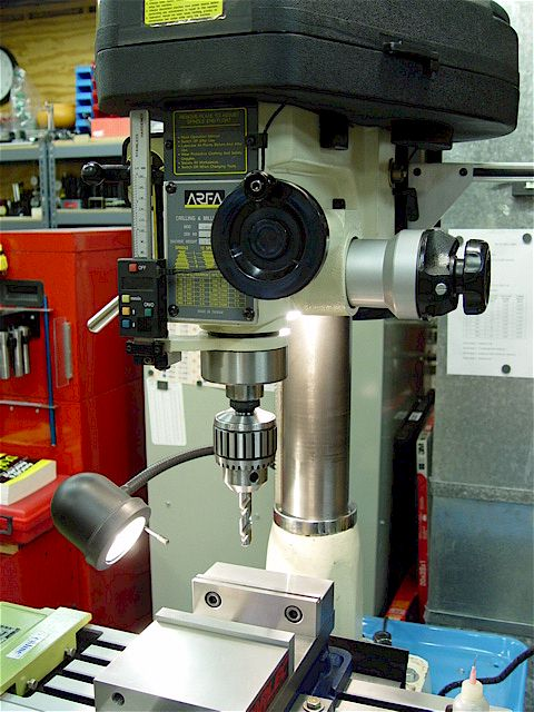 drill press into milling machine
