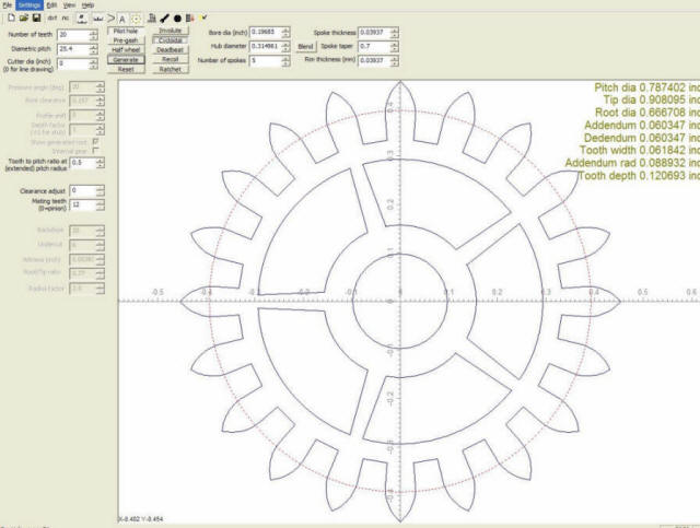 DIY CNC - Making Gears With Free Software