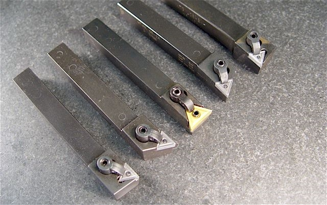 Bits And Carbide Inserts : Lathe quick change tool post bits